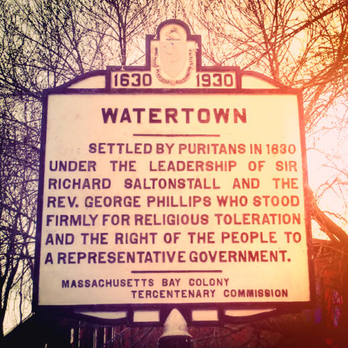 Watertown Sign